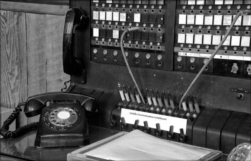 Telephone Exchange at the Molalla Historical Museum.