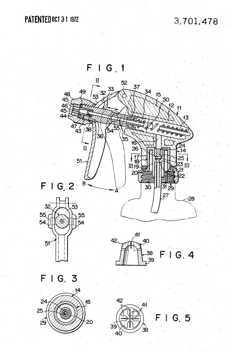 One of Tetsuya Tada's many patents on trigger spayers.