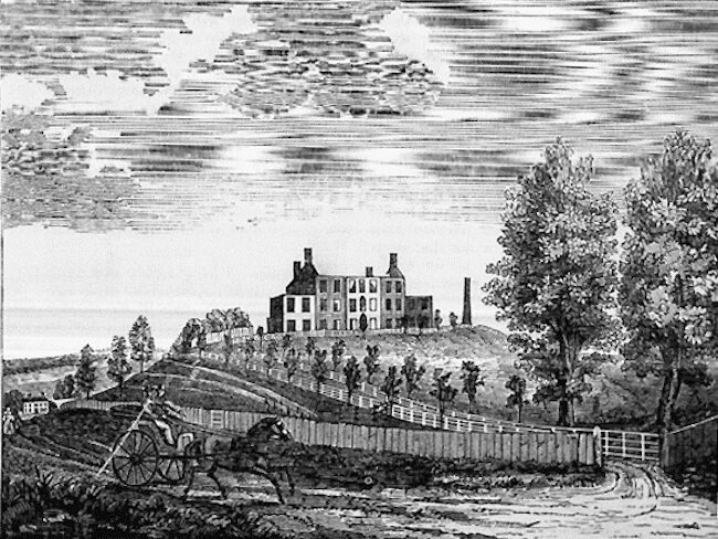 This Ursuline convent was the setting for an exposé and was torn down by an angry mob.