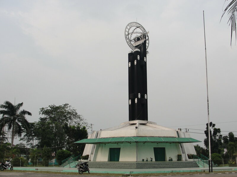 The Equator Monument.