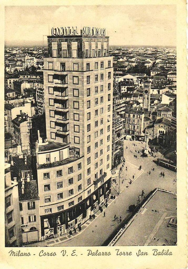 SNIA Viscosa headquarters, c. 1943