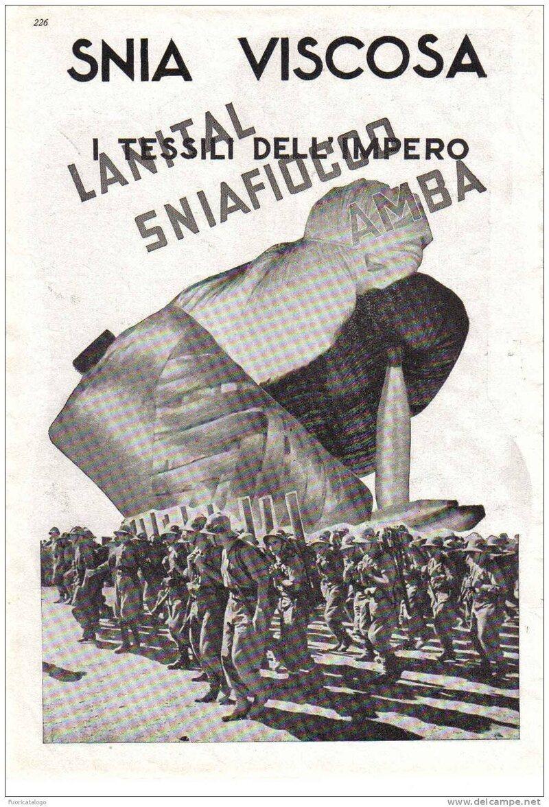 SNIA Viscosa propaganda, 1936