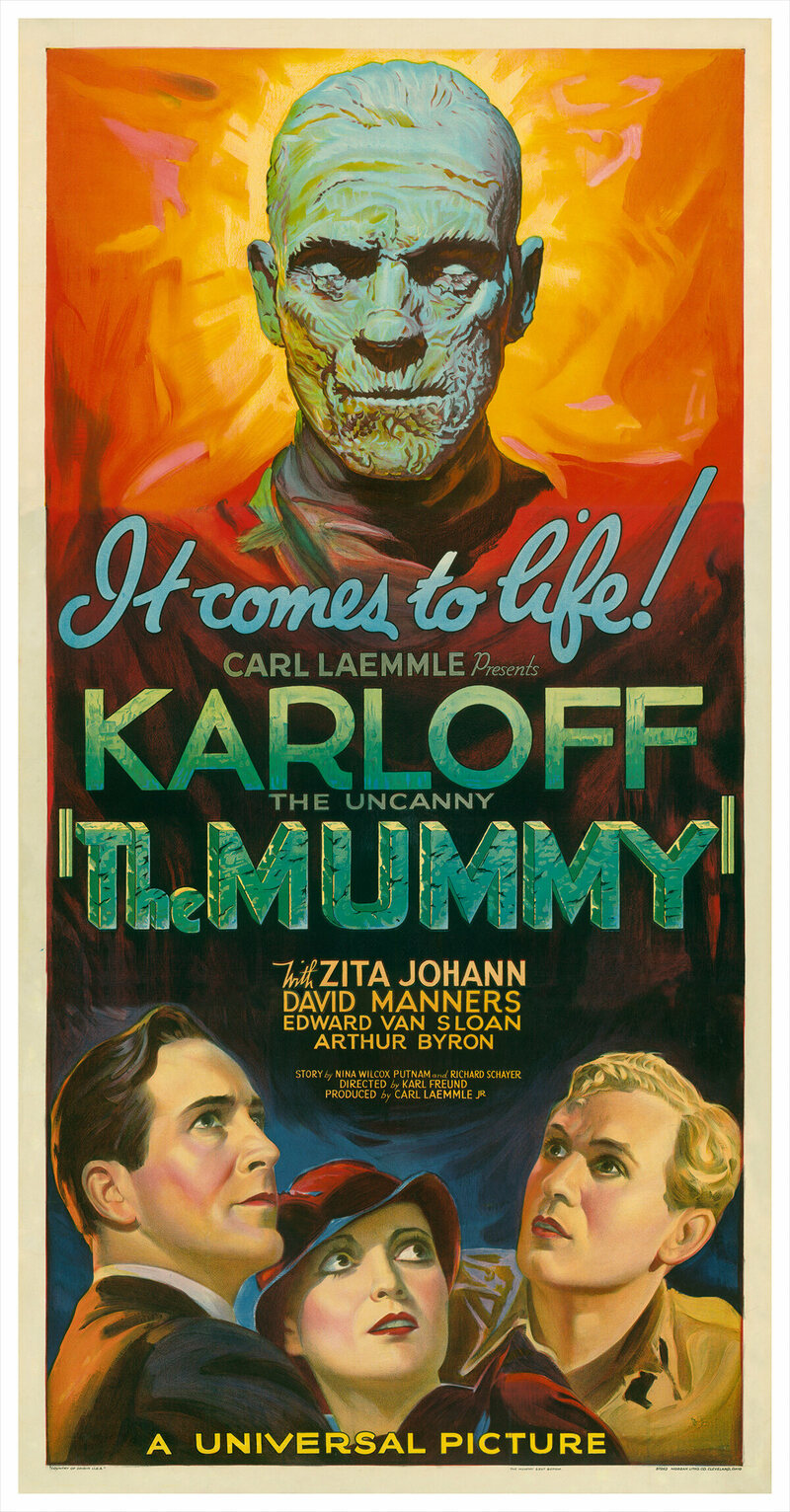<em>The Mummy</em>, attributed to Karoly Grosz, 1932.