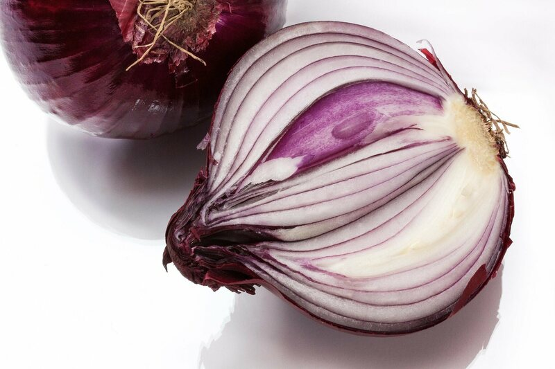 Cutting onions triggers tears thanks to the bulb's lachrymatory factor.