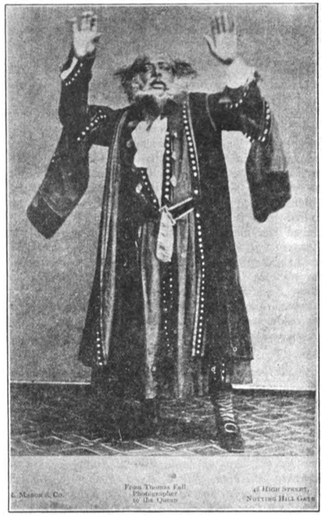 Ira Aldridge in character as Shylock, year unknown.