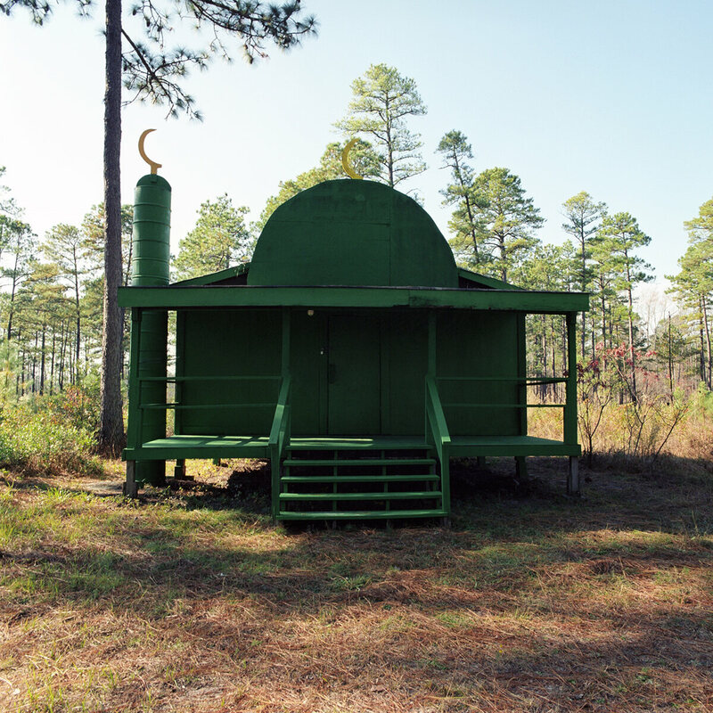 Green Mosque, Camp Mackall, North Carolina.