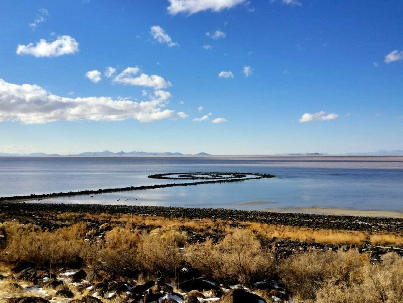 "Robert Smithson's ""Spiral Jetty."""