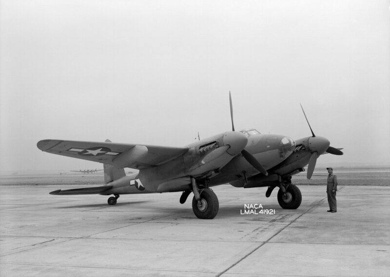 A U.S. Army Air Force De Havilland Canada Mosquito, flown in 1945.