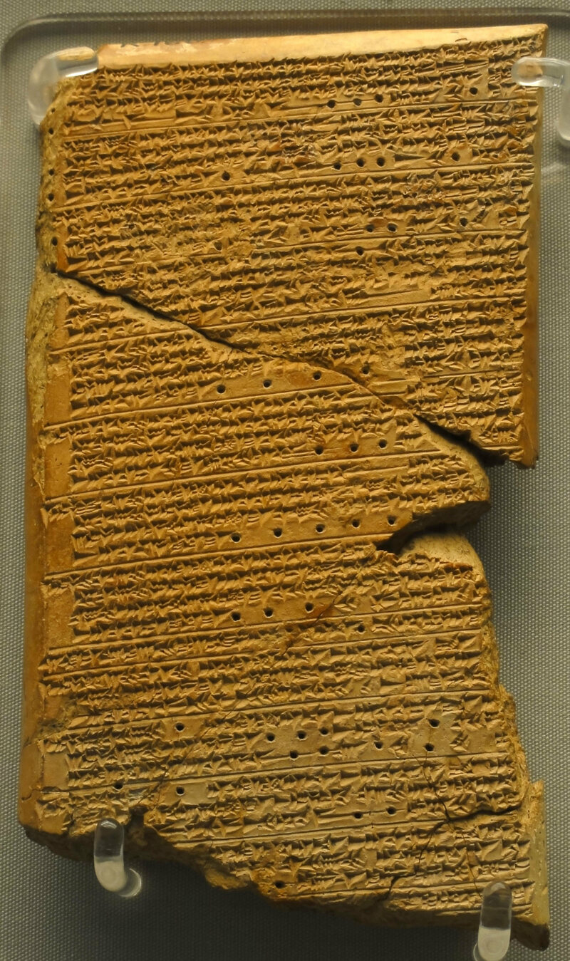The so-called <em>Venus Tablet of Ammisaduqa</em>, from ancient Mesopotamia, shows detailed astrological forecasts.