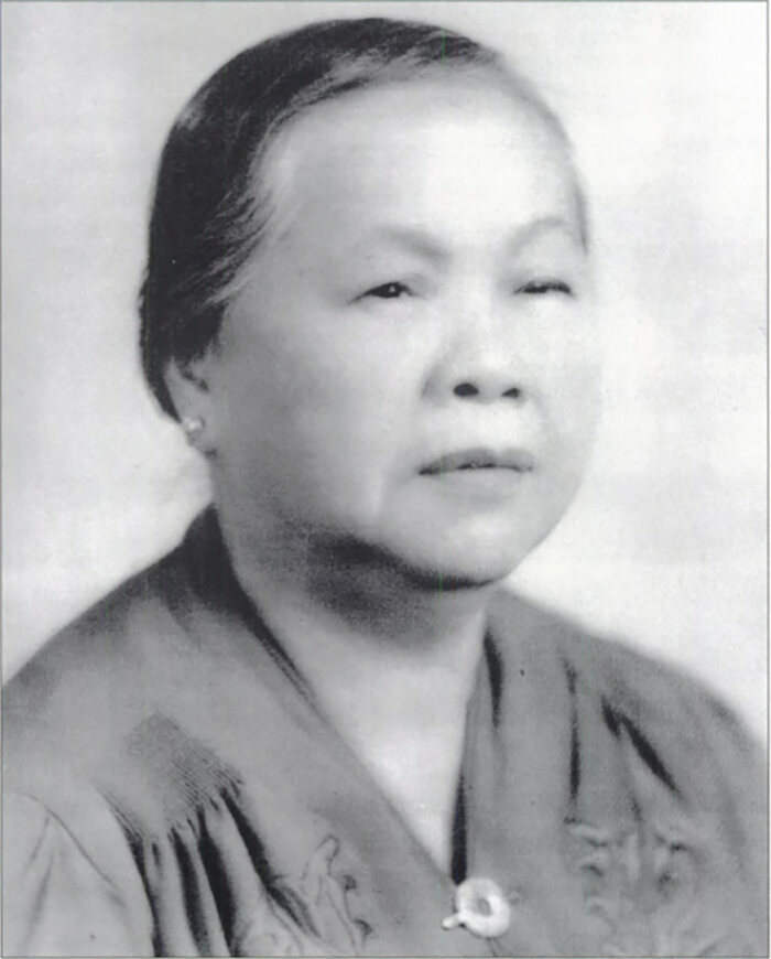 Lee Ng Shee, grandmother of John Mok.