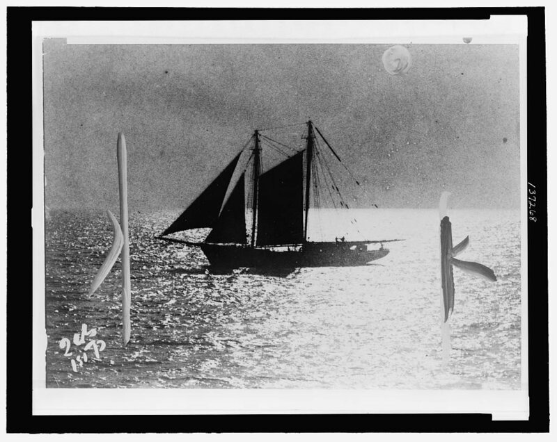A rumrunner in 1924.