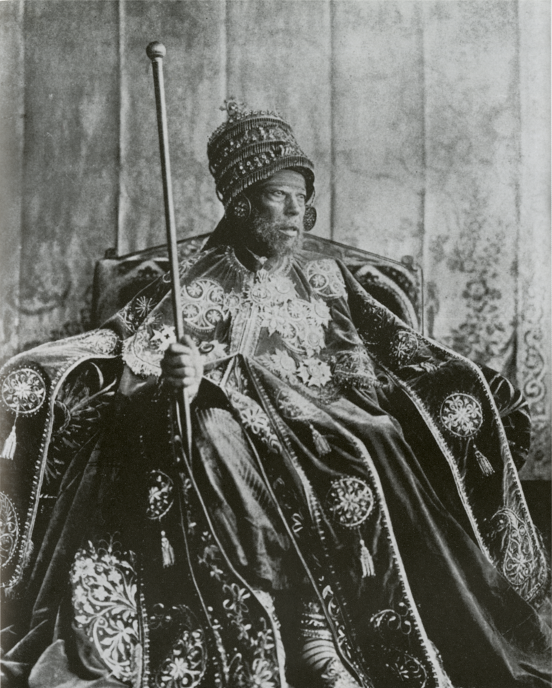 Some later accounts claim that the group was impersonating the Emperor Menelik II of Ethiopia and his suite. Menelik was a well known figure, which makes this theory unlikely.
