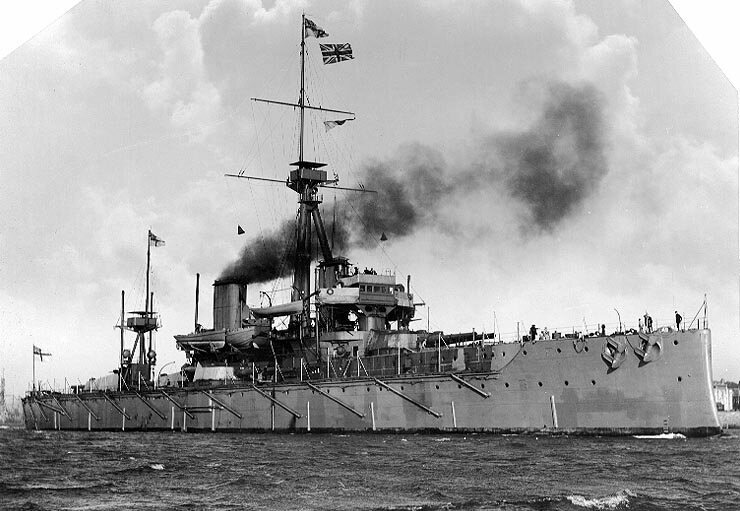 HMS <em>Dreadnought</em> was the pride of the Royal Navy, and a public symbol of the empire's strength and technological sophistication.