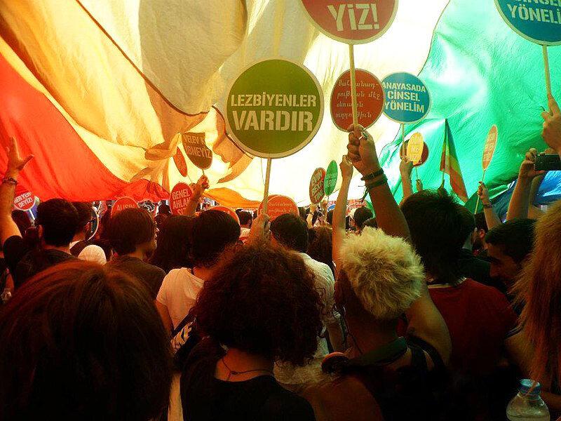 Istanbul Gay Pride Parade, 2012.