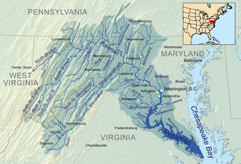 The Potomac River was a major staging ground within the Oyster Wars.
