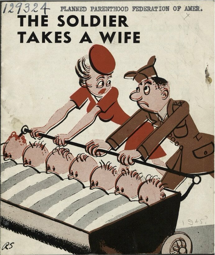 """The Solider Takes a Wife"" was published in 1946."