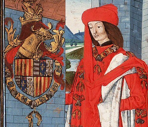 King Ferdinand I of Aragon had colorectal cancer.