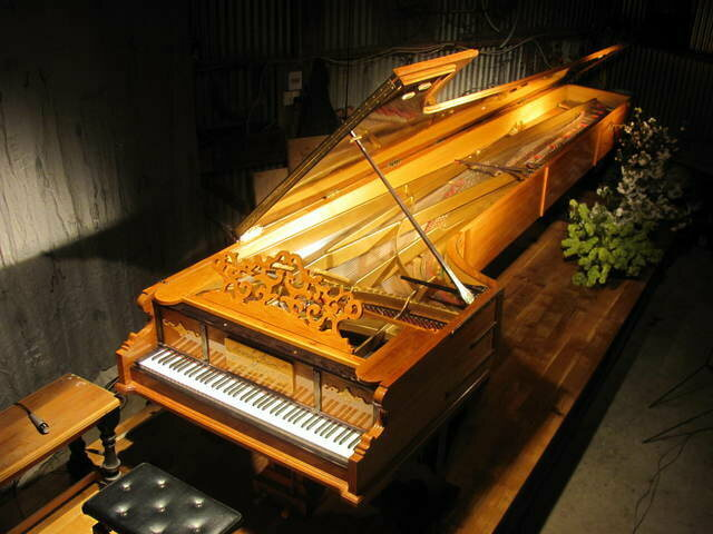 The Alexander Piano in all its glory.