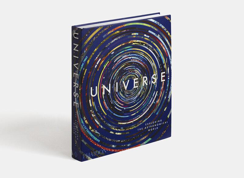 The cover for <em>Universe: Exploring the Astronomical World</em>.