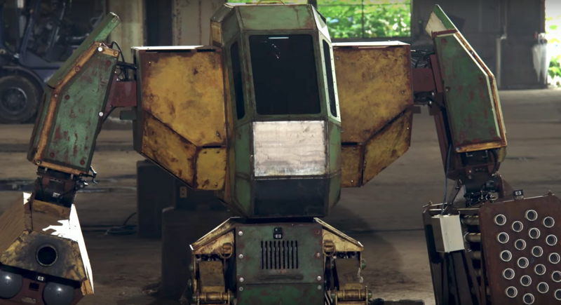 Finally, We Get to Watch 16-Foot-Tall Robots Battle It Out