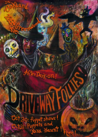 The poster for the 2011 <em>Driveway Follies</em>.