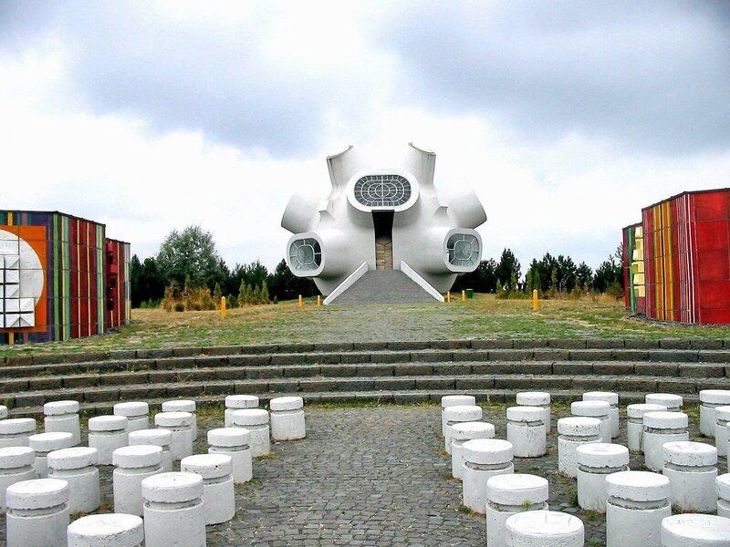 The Kruševo Makedonium monument to the Ilinden Uprising in Macedonia.