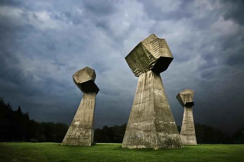 Bubanj Memorial Park in Serbia.