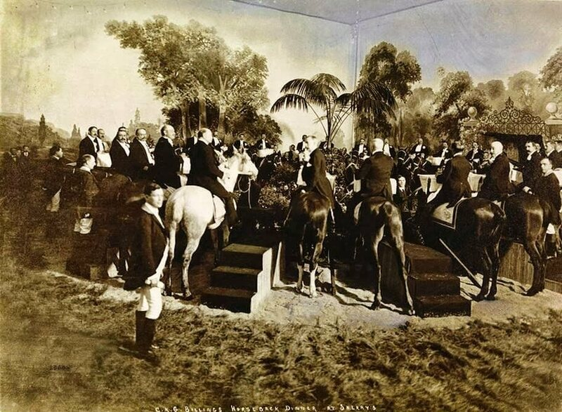 C.K.G. Billings' infamous horse banquet was inspired by a love of all things equine.