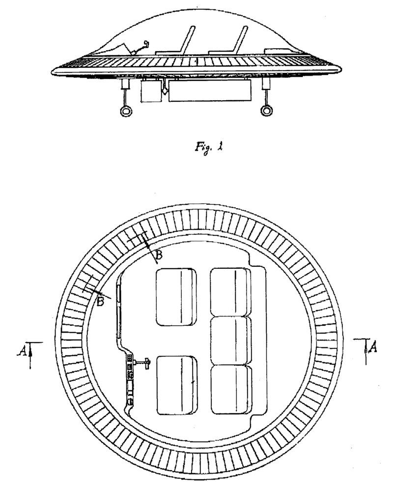 "The patent document for this 2003 invention describes it as a ""ring-shaped wing helicopter, which is similar to a flying saucer in appearance."""