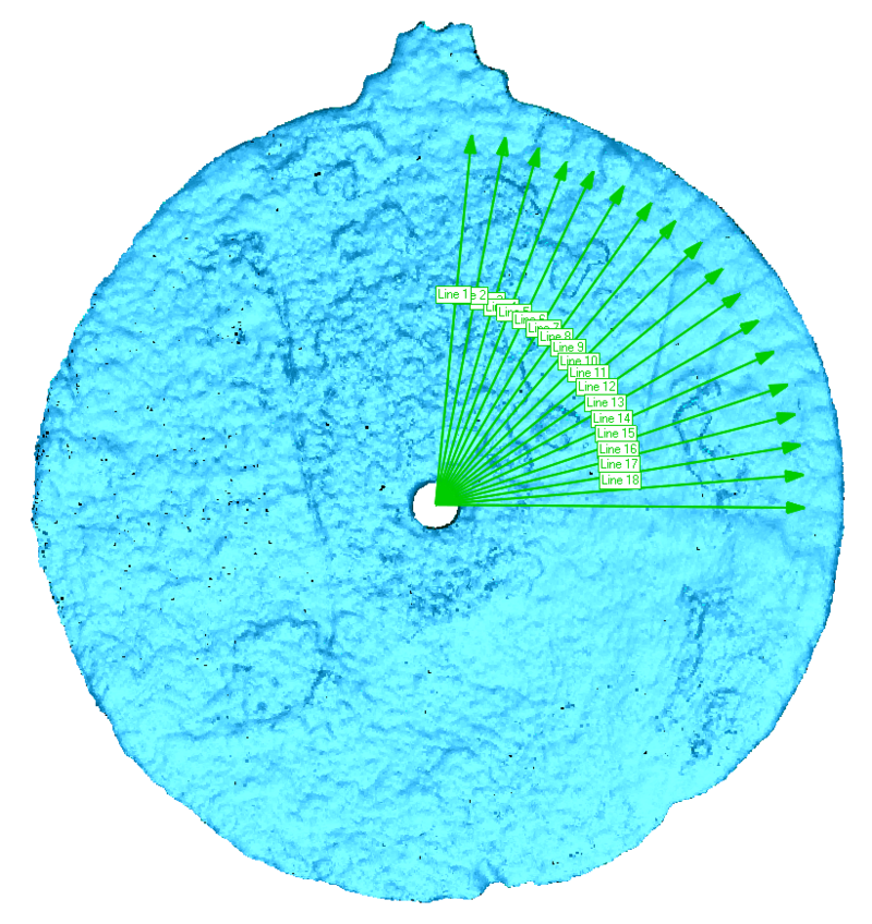 A scan of the world's oldest astrolabe.