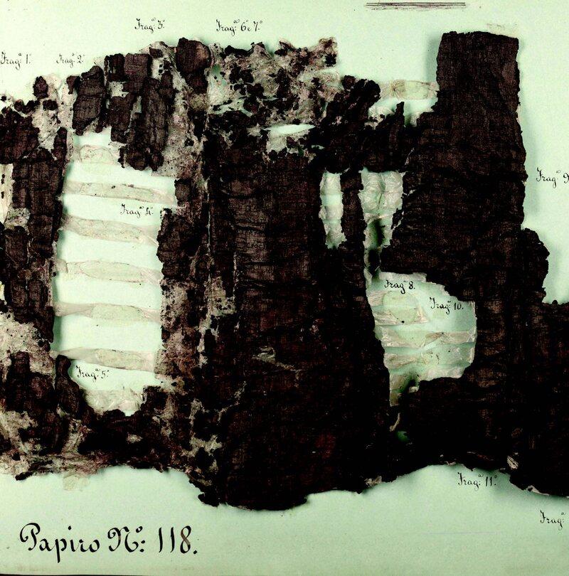 Herculaneum scrolls.
