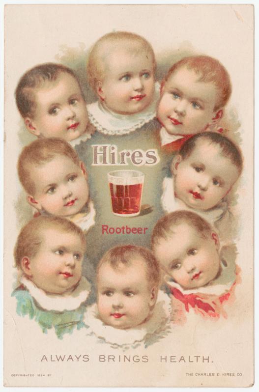 Creepy babies, root beer, and health? Sure!