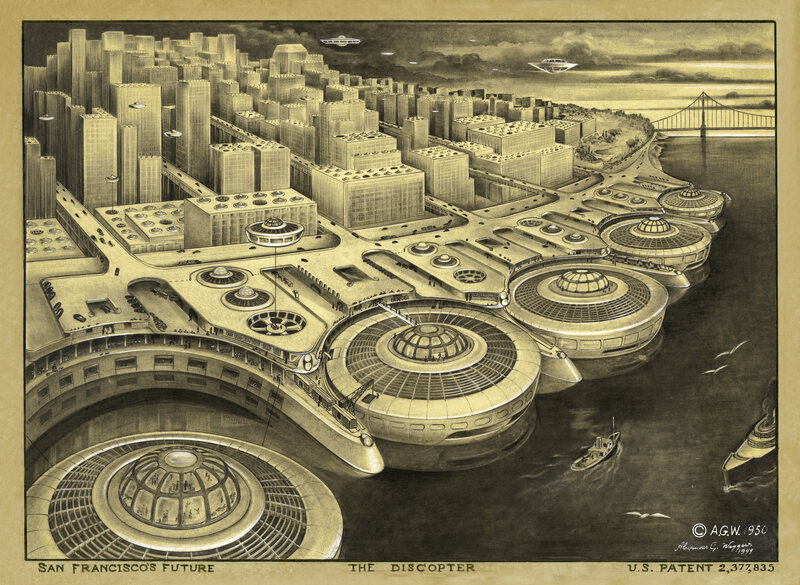 San Francisco's future, according to Weygers.