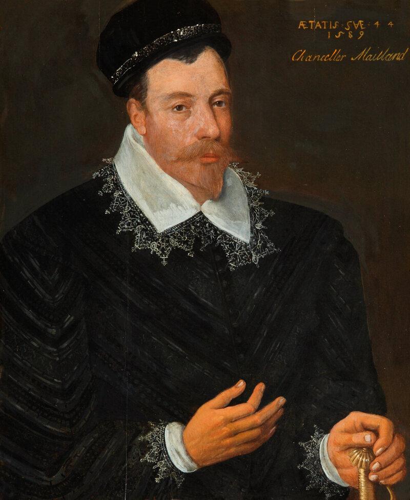 The portrait of Sir John Maitland, by Adrian Vanson