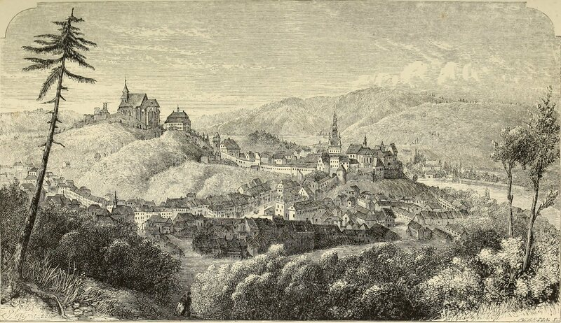 An 1865 illustration of Transylvania, the source, thanks in part to Bram Stoker, of much of today's vampire mythos.