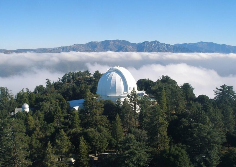 Mount Wilson Observatory on November 1, the 100th birthday of its 100-inch telescope.