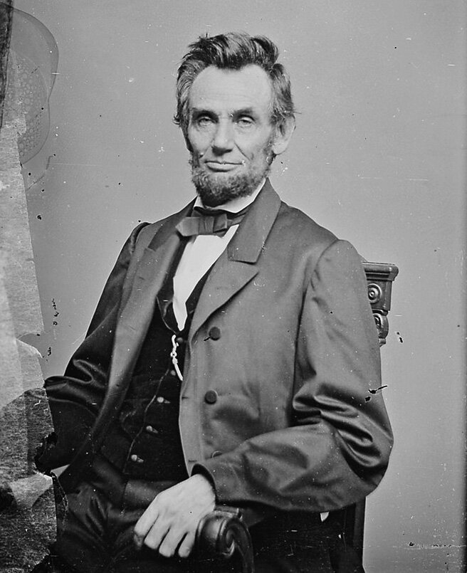 Abraham Lincoln reportedly saw his doppelgänger in 1860.