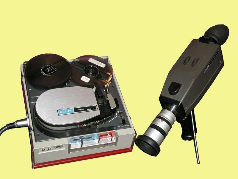 A 1970s Portapak. Affordable and portable video made it possible to democratize television.