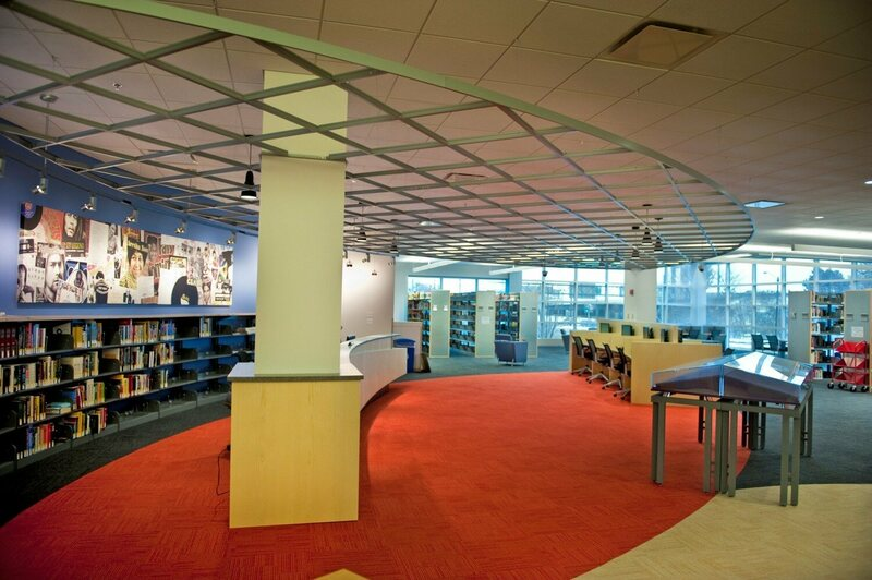 The Rock Hall reading room.