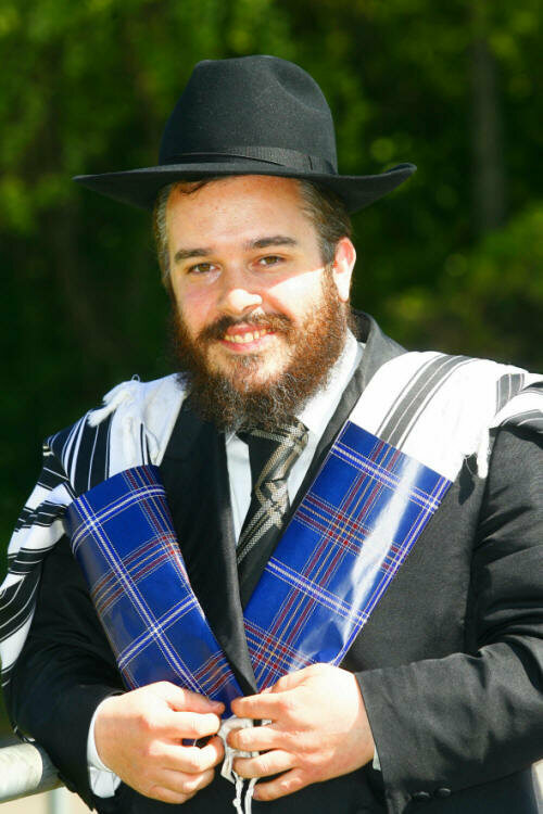 Rabbi Mendel Jacobs.