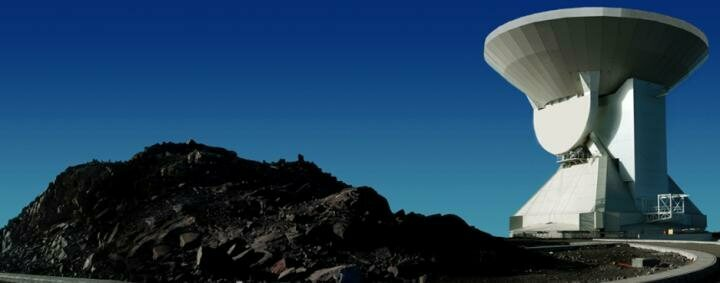A Large Millimeter Telescope in Mexico helped researchers detect a star-forming galaxy 12.8 billion light-years away.