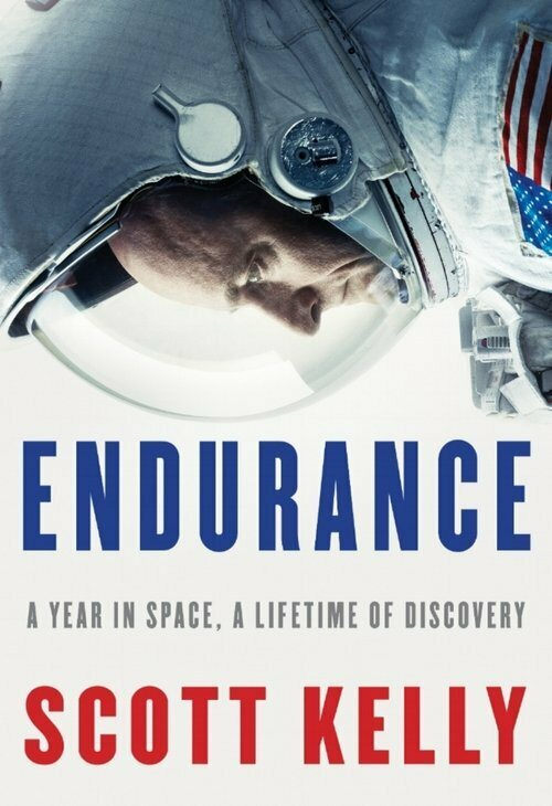 The cover of Kelly's book, <em>Endurance: A Year in Space, A Lifetime of Discovery</em>.