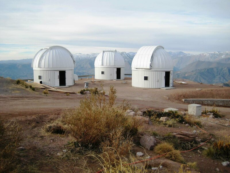 One of the telescope nodes in the Las Cumbres Observatory network, Cerro Telolo, Chile.