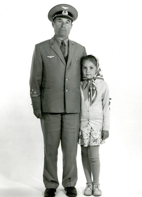 <em>Railroad Worker and Granddaughter</em>.