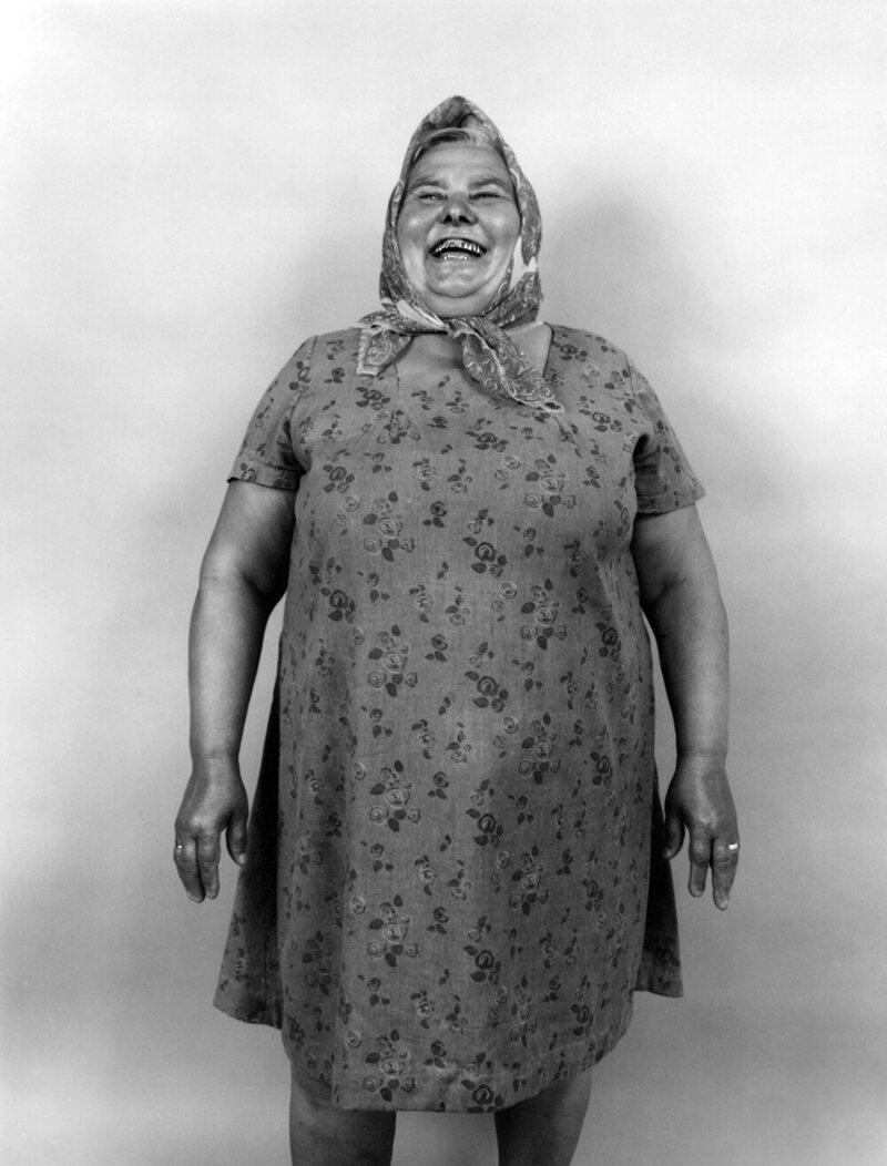 <em>Woman Laughing with Steel Teeth</em>.