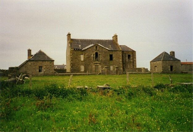 An old mansion in Unst.