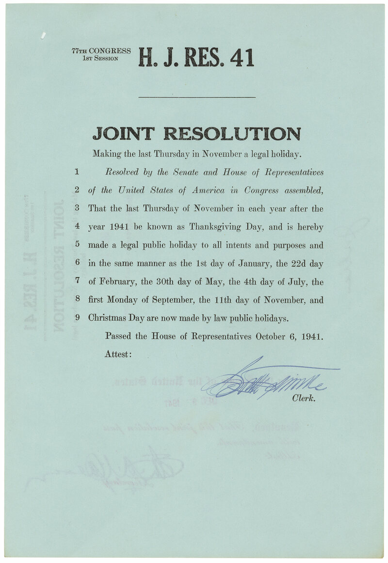 The House resolution; it didn't survive the Senate.