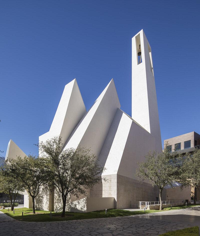 Parish Church Señor de la Misericordia, Moneo Brock, 2016, Monterrey, Mexico.