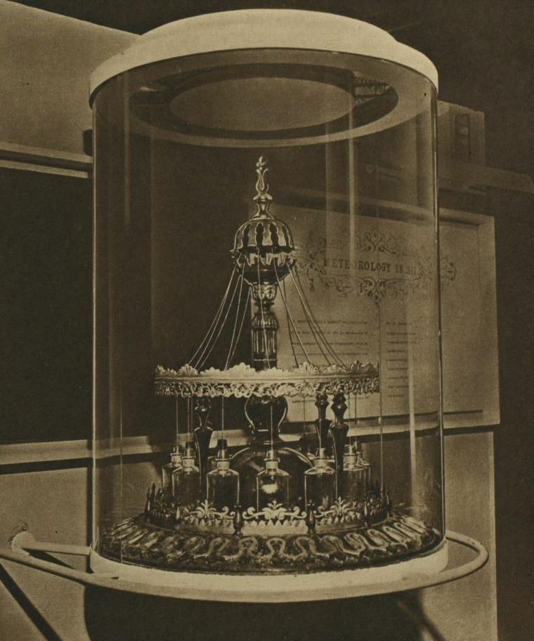 A non-working replica of the Tempest Prognosticator.
