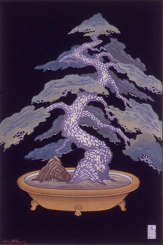 <em>Dwarf Pine Tree</em>, printed 1928.